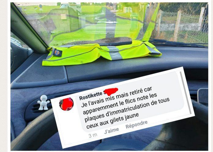 Gilet jaune obligatoire voiture passager