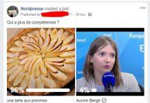 664cb40793e Le grand Débat Nordpresse a parlé  Aurore Bergé sera remplacée par une  tarte aux pommes à la rentrée